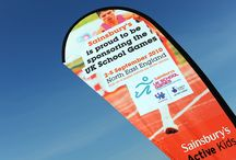 Signage | UK School Games 2010 / Like what you see? Find out more at http://bit.ly/2w1z20j