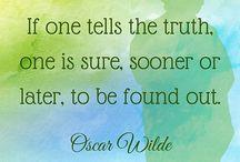 Oscar Wilde quotations / Oscar Wilde