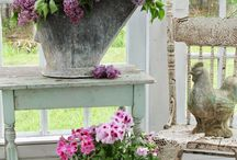 cottage/shabby chic, I love this