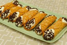 Cannoli and other baked goods