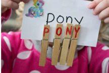 Montessori kızım için