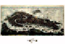 """The Intruders / """"The Intruders"""" è un percorso espositivo fuori luogo. Nasce dalla volontà di mettere in discussione alcuni spazi rappresentativi del patrimonio culturale veneziano insieme agli artisti, ospiti inattesi chiamati a contaminare il territorio riservato ad altri."""