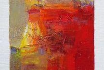 Abstracte schilderijen