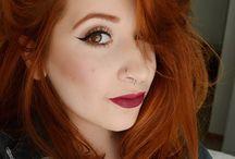 Ginger/red henna hair♥