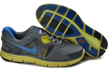 Nike LunarGlide+ 3 Grey-Yellow