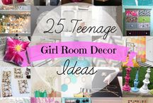 Teen Bedroom and Craft Ideas