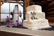 // Cake // / Wedding cakes, wedding desserts, Colorado wedding photographer, wedding photography, yummy, delicious, love, celebration, wedding vendor