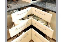 Kitchen - Corner Storage Ideas