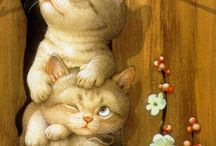 GATTI * CATS * CHATS * KATZEN * 猫 * КОТЫ * القطط