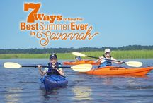 7 Ways to Have the Best Summer Ever in Savannah / Try these seven activities to get started on your summer adventure in the South!