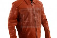 Distressed Brown Leather Jackets / All the different shades of brown, in leather.