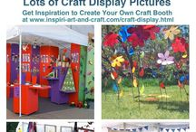 Craft Displays / by Kay Rhett
