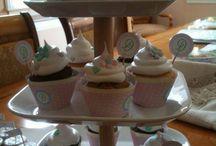 Delfina 1rst birthday party / Bautismo y Primer Cumple en colores pasteles