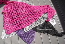 Haakpatronen: Sjaals/poncho's