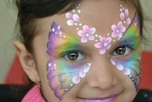 GIRL - Face Painting Inspirations