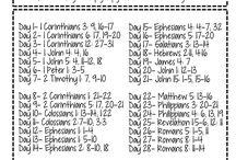 Scripture reading plans