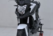 Honda NC 750 X 2014/2015 / Accessories, windshield, rear hugger, under tail, exhaust
