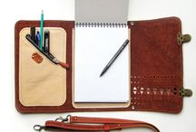 sobres y cuadernos