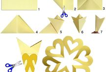 Paper-crafts / Great crafts with paper
