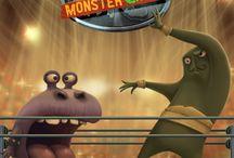 Monster Catch / Le but du jeu est de faire gagner son monstre dans ses combats de Catch
