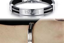 Edelstahl Armband Armreif + Ab 1 Euro Schnäppchen garantiert