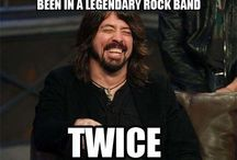 Foo Fighters! Best Band Ever! / ROCK! / by Ted Fries