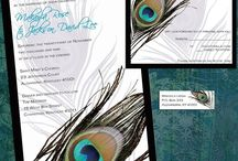 Peacock Feather Wedding