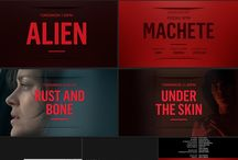 Motion Graphics / Motion graphics and title sequences