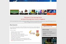 Website Design for Tuition Agency in Singapore / Some of the website samples for tuition agency in Singapore