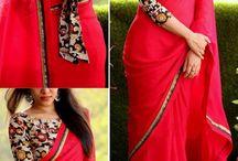 saree+blouse