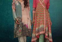 Indian fashion.