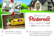 """My JGH Dream Home / Pin-2-Win Enter for the chance to WIN a $250 VISA Gift Card.  To enter: Follow J&G Homes on Pinterest. Create a board on your page called """"My JGH Dream Home,"""" repin the contest image onto this new board and go crazy pinning images of what you would include for your new home. (Images can range from appliances to home decor items to floor plans!) Add #MyJGHDreamHome under each pin in the pin description. Once your board is created you will be entered into our Pin-2-Win contest!"""