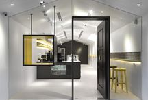 Working space interiors