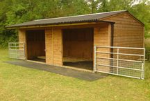 Cool stables / stables are en portent to horses because they live in them for a 50 percent time of there day! it's like a bedroom to them! :) lol
