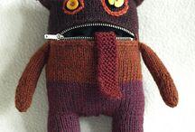 monstres tricotes