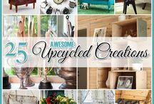 How to Upcycle / upcycling ideas for upcycling furniture, jam jars and other useful upcycling ideas for your home