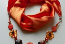 scarves accessories / scarf buckles and jewellery and other accesories