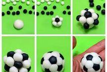 soccer ball fondant
