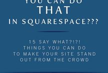 Squarespace ideas and inspiration