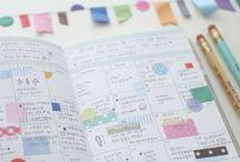 Journal/Calendar / by Samantha Millard