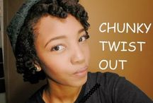 2015 Chunky Twist Out -short-
