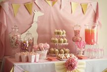 Girl Baby Shower Ideas / by JourneyOn Designs