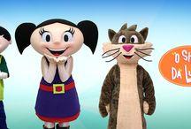 O Show da Luna! / CURIOSIDADE E MUITA IMAGINAÇÃO!  Criação dos famosos personagens Luna, seu irmão Júpiter e Cláudio da série de animação brasileira O Show da Luna, exibida no canal Discovery Kids. Trabalho desenvolvido através da TVPinGuim.