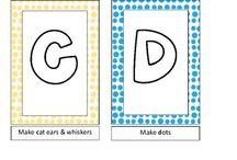 Alphabet craft / by Tina McDowell