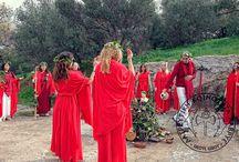 polytheistic worshiping / worship