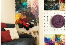 Craftroom & Supplies / Space and materials.