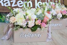 Podziękowania dla rodziców skrzynki pod kwiaty