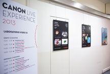 Primiazione Next Step Award / La cerimonia di premiaizone durante il Canon Live Experience, Milano 16 novembre 2013