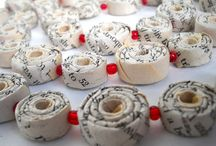 Paperbeads and Fabricbeads