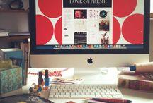 Laura LOVE : My Desk !